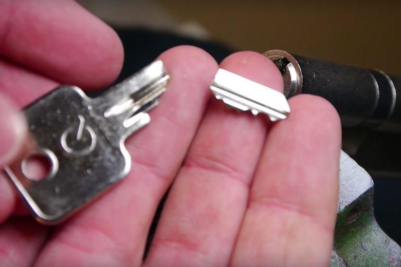 chave quebrada